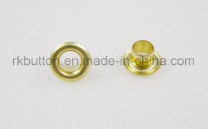 Fornecedor de fábrica no olhal de latão de alta qualidade com Oeko-Tex Certificado standard de 100
