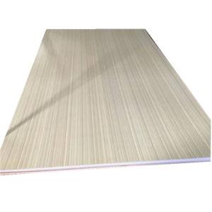 Placa de MDF melamina con madera de color de grano