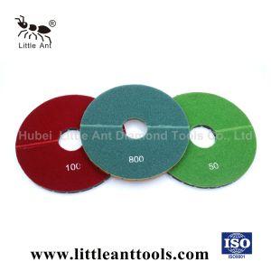 tampone a cuscinetti per lucidare del pavimento della resina 8  &9  e disco di molatura