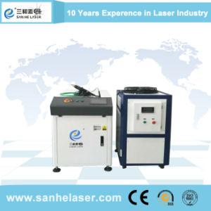 Soldador/soldadora láser de fibra con cámara CCD