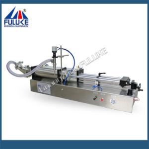 Fgj Fuluke Cabeça Dupla Semiautomático máquina de enchimento líquido Horizontal Pneumática