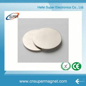 N35 Nickle покрытием Super Strong диск неодимовый магнит