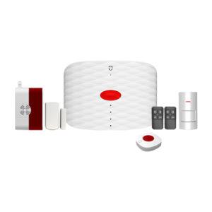 GSMの対面通話装置が付いている緊急の警報システム