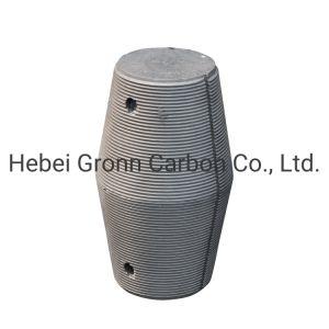 200-700mm RP de electrodos de grafito de carbono para la fabricación de acero