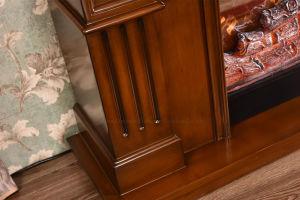 MDFの承認されるセリウムが付いているホーム家具のヒーターの電気暖炉(343S)