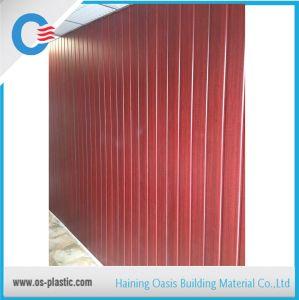 Conception en Bois 300mm de largeur mur en PVC panneau laminé PVC Panneau au plafond
