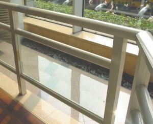 機密保護Commericalか産業アルミニウムガラス塀またはFencingsまたはバルコニー