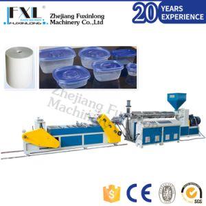 PS/PP/PE/hanches feuille de plastique Machine de l'extrudeuse