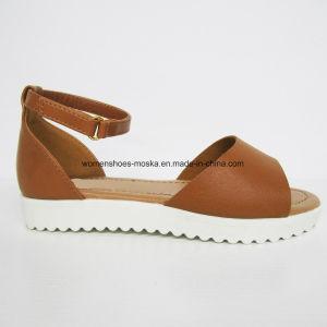 Chaussures de santal de mode de femmes de confort avec le talon plat