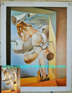 Olieverfschilderij, de Reproductie van het Olieverfschilderij, Olieverfschilderij Dali