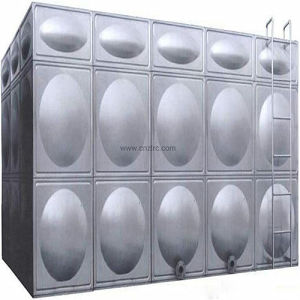 Conteneur de l'eau de soudure en acier inoxydable réservoir d'eau du panneau de coupe