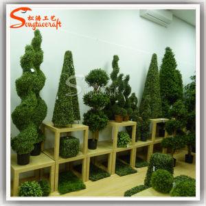 Novo Estilo de buxo Bola Topiary Artificial