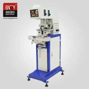 서비스 영국 박자 기계 2 색깔 설명서 인쇄 기계를 인쇄하는 매력적인 패드