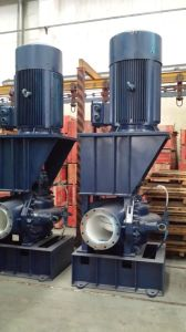 Vertical Electrical Double Suction Centrifugal Pump with Motor