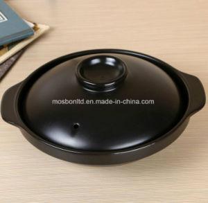 뚜껑 사기그릇 스튜 냄비를 가진 타원형 모양 태양열 집열기 세라믹 Stockpot