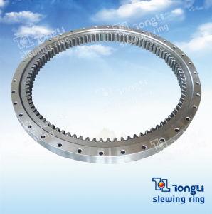 La norme européenne de la série de lumière /Single-Row bille/pignon interne de la bague pivotante à bille/pivotement