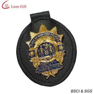 革警察は記章を付ける金の警察のバッジの習慣(LM1683)に
