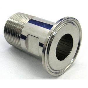 Acciaio inossidabile che filetta la giuntura dell'accoppiamento del puntale del tubo flessibile