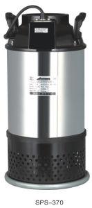 304ss grand débit de pompe à eau de mer des eaux usées submersible (L-63)