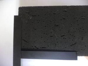 Visión Ceilng negro de fibra mineral y Parrilla de techo