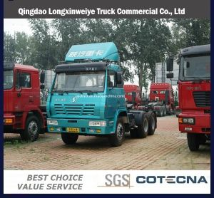 De Vrachtwagen van de Aanhangwagen van Beiben van Benz van het noorden 6X4