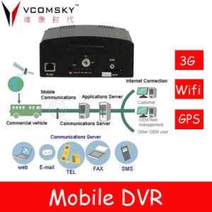 4 Kanäle bewegliches DVR mit 3G/GPS/WiFi wahlweise freigestellt----Die beste Wahl von DVR