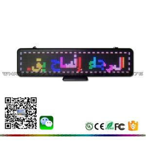 Affichage LED de bureau intérieure de défilement du message programmable Téléphone Mobile Blue tooth Message de mise à jour, de la langue de l'écran personnalisé