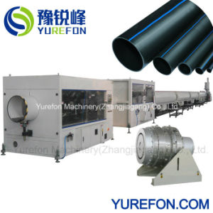 PE de HDPE LDPE PPR o plástico de gás de água de alimentação de óleo do tubo de borracha de extrusão do tubo da linha de produção do Tubo extrusora de fuso simples fazer a máquina