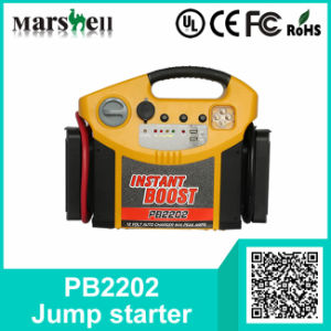 Air CompressorまたはPower Inverterの普及したInstant Jump Starter