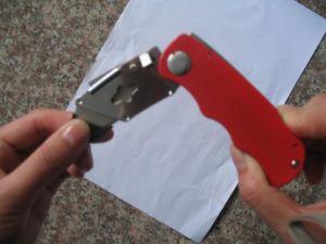 Cuchillo plegable Aluminium-Alloy Material (NC1580)