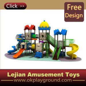 3 à 15 ans enfants Aire de jeux en plastique extérieure (X1235-5)