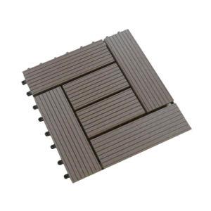 Deck de bricolage Tile/WPC DIY tile/ladrilho deck exterior (300*300mm)