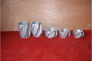 Жесткая литая алюминиевая твердых Centralizer