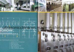 Machine de fibres discontinues de polyester