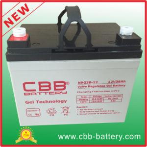 Larga vida útil de 12V 38Ah batería de gel de Car Audio