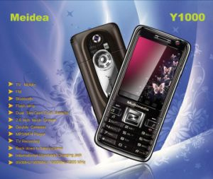 Cartão duplo SIM Telefone móvel Dual Standby (Y1000)