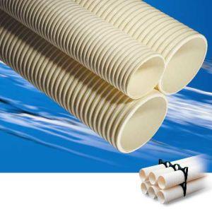 - Tubo de plástico Tubo de PVC y accesorios de corrugado Double-Wall