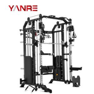 Venda por grosso de design novo Home Use a alavanca multifuncional de Ginásio Fitness Equipment 3 em 1 potência combinada de rack com Smith Função da Máquina