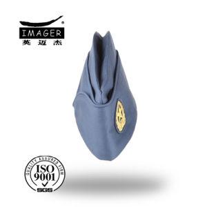 Novo design de tampa lateral azul com tecidos de Badge