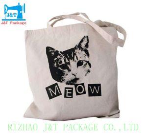 Sac de tissu de coton de la publicité, fabricant de sacs de magasinage de coton