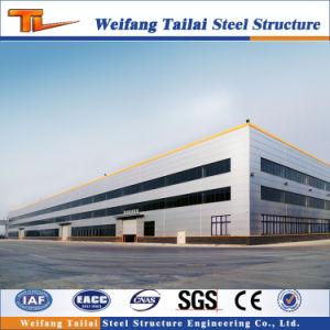 Structure en acier personnalisée de l'industrie de l'entrepôt de construction