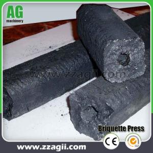 O parafuso do bloco de biomassa de capim Imprensa briquetadeira Extrusora