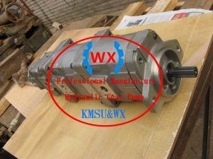 Parti genuine della pompa di KOMATSU D155 delle parti del bulldozer della pompa a ingranaggi del lavoro di KOMATSU D155 705-55-34580