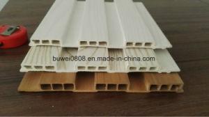 Panneau décoratif de nouveaux produits 400X7mm WPC Panneaux muraux