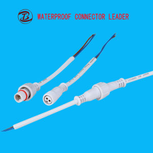 Spina circolare elettrica della vite dei connettori IP67 con cavo
