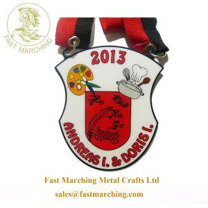 La stampa su ordinazione di vendita di falsificazione di buona qualità possiede la medaglia del cuoco unico del medaglione