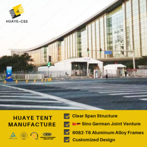 deutsches doppelter Decker-Zelt der Qualitäts6082t6 für Verkauf (hy745b)