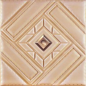 3D 1060-3 PU panneau mural en cuir pour la décoration intérieure moderne