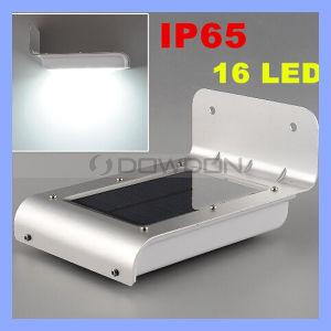 新しい世代16 LEDの太陽エネルギーエネルギーPIR赤外線動きセンサーライト防水庭の機密保護ランプの屋外の太陽庭ランプ