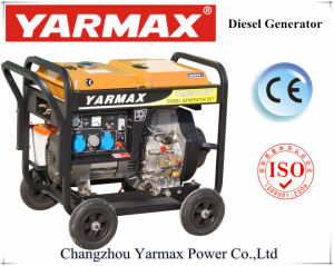 Dubbele Functie 230V 8.7A Ym6500eaw van de Generator van het Lassen van het Begin van Yarmax de Elektrische
